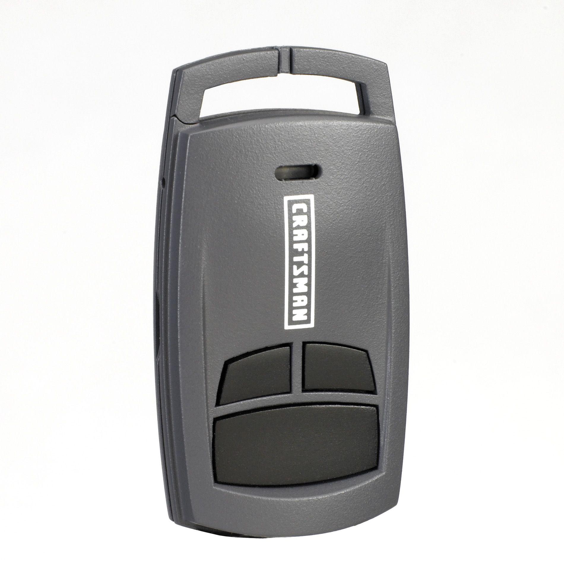 Craftsman Garage Door Opener 3-Function Compact Remote Control