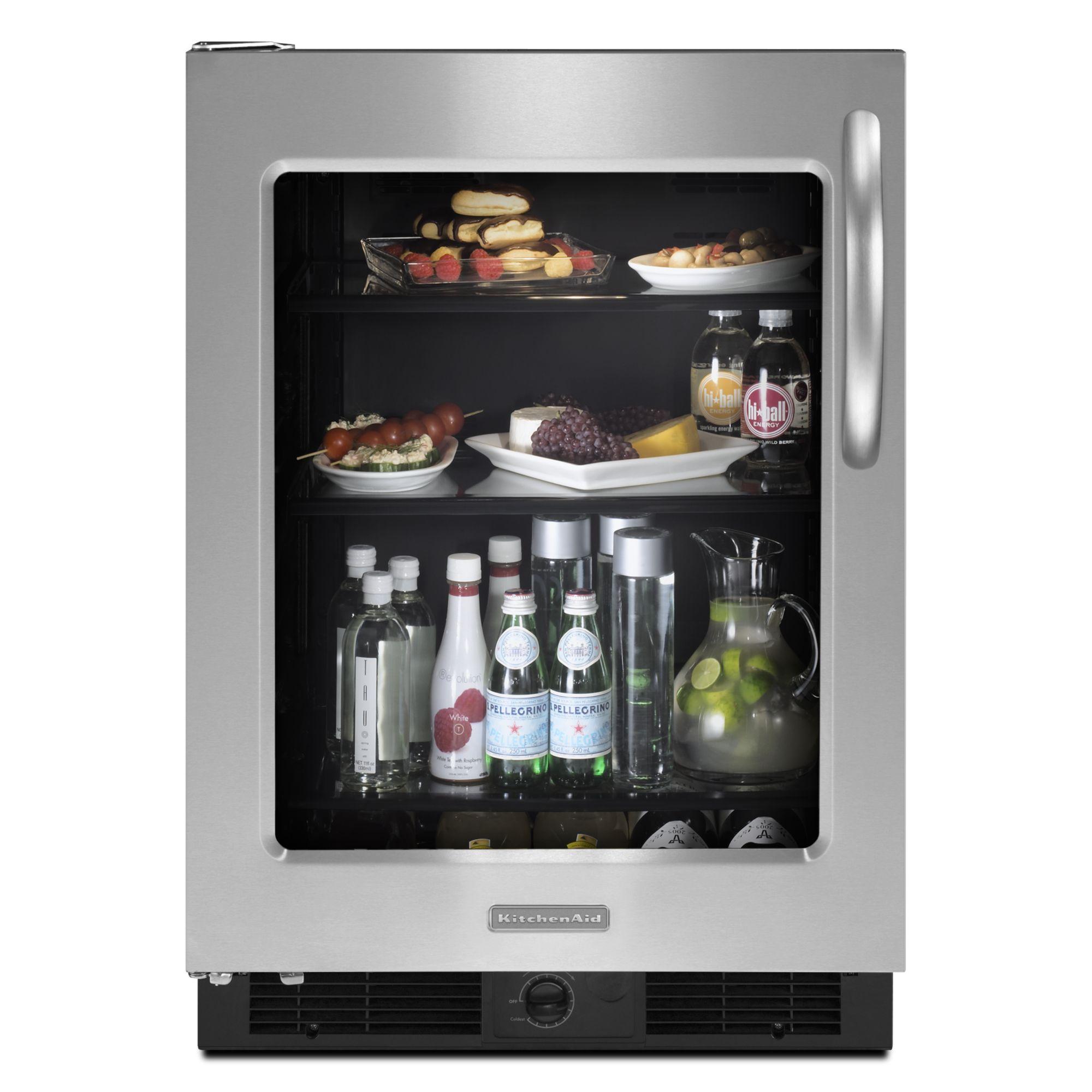 KitchenAid 5.7 cu. ft. Undercounter Refrigerator - Stainless Steel