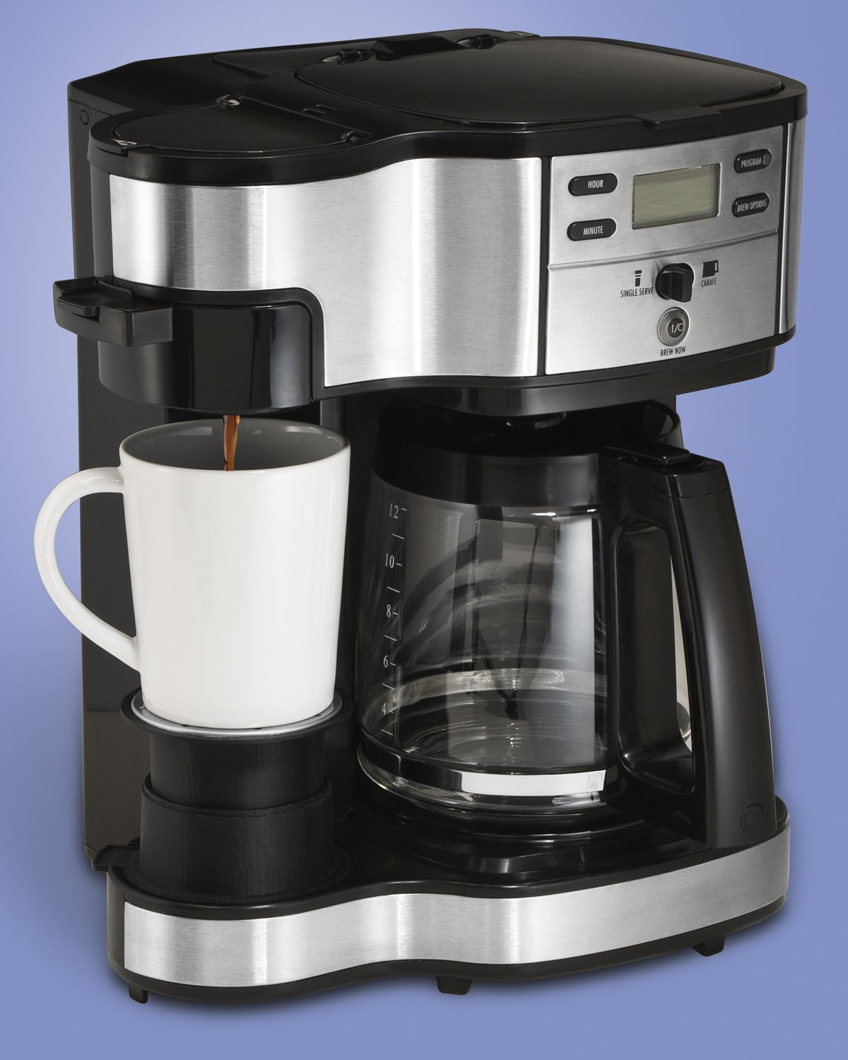Hamilton Beach Hamilton Beach® The Scoop 2-Way Brewer Coffemaker