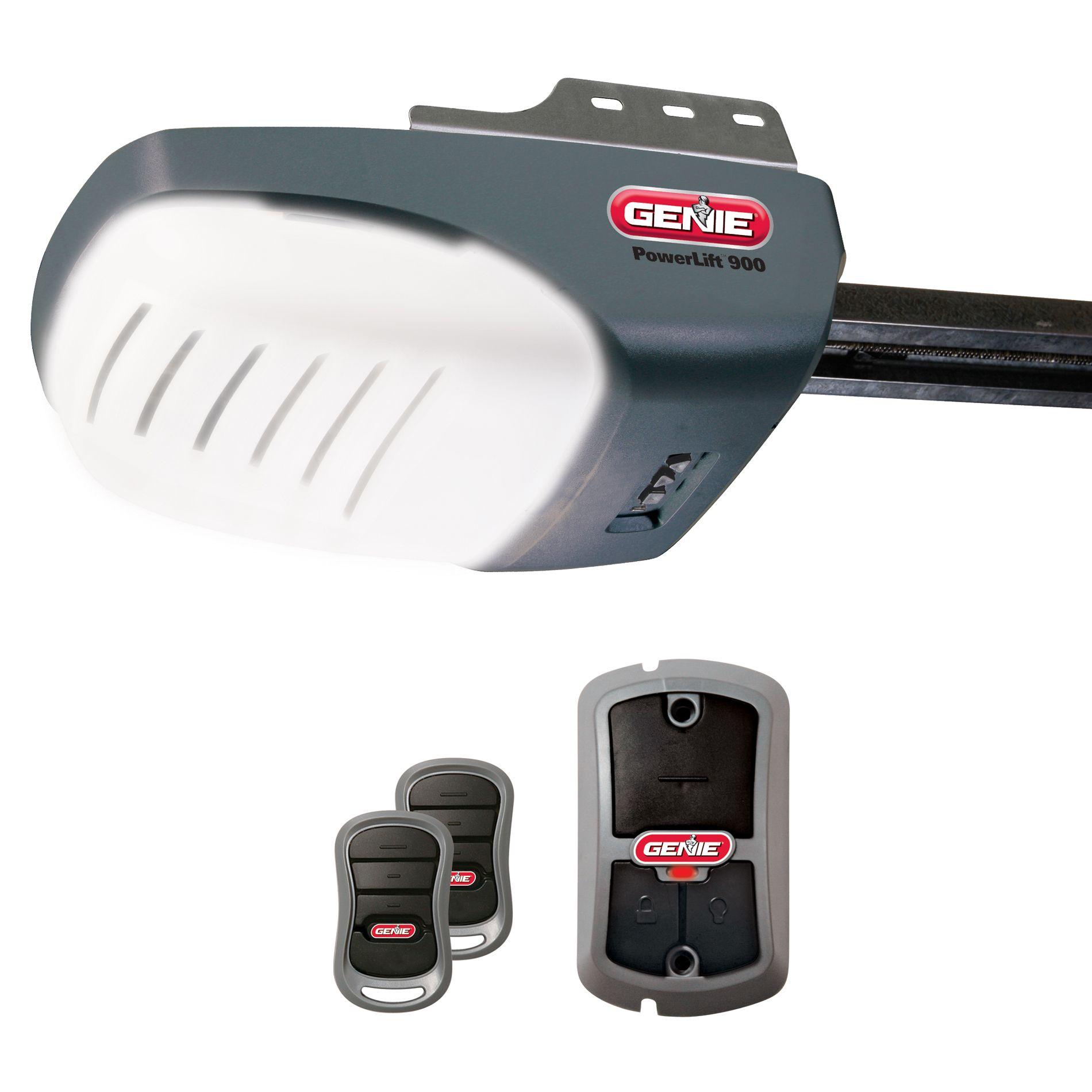 Genie PowerLift 900 1/2 HP Screw Drive Garage Door