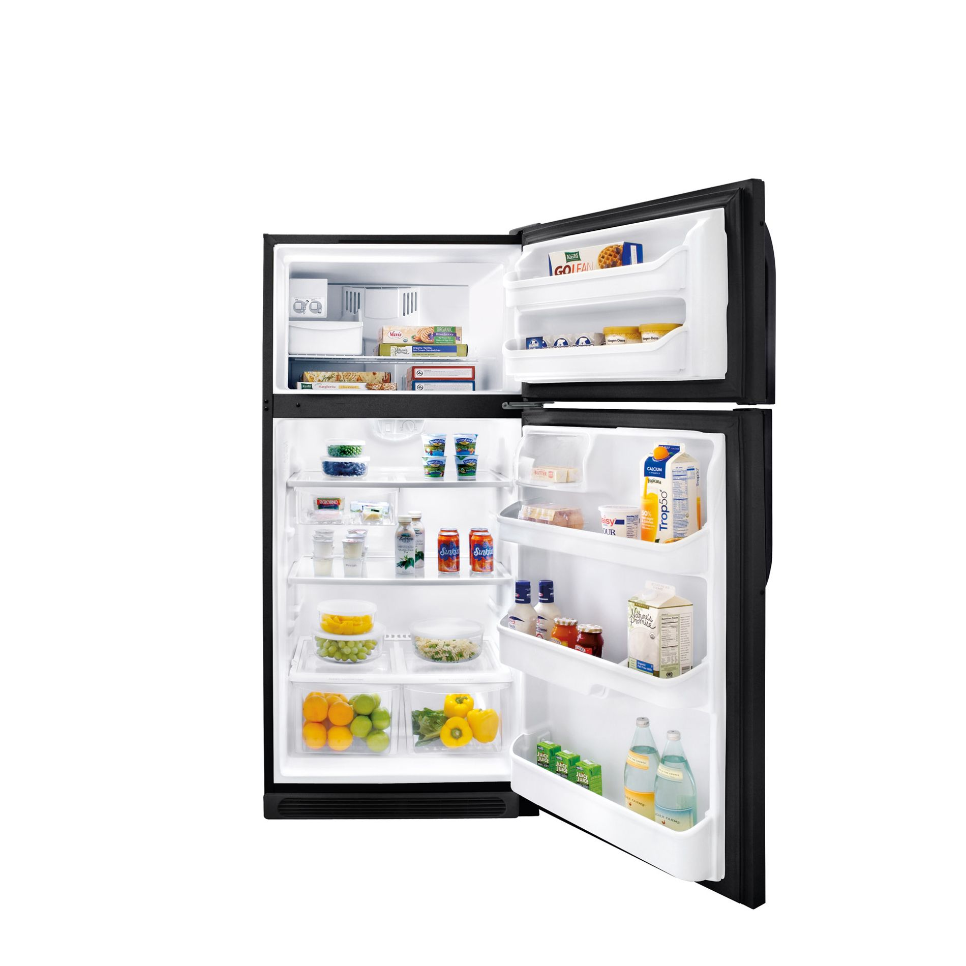 Kenmore 18.2 cu. ft. Top-Freezer Refrigerator - Black