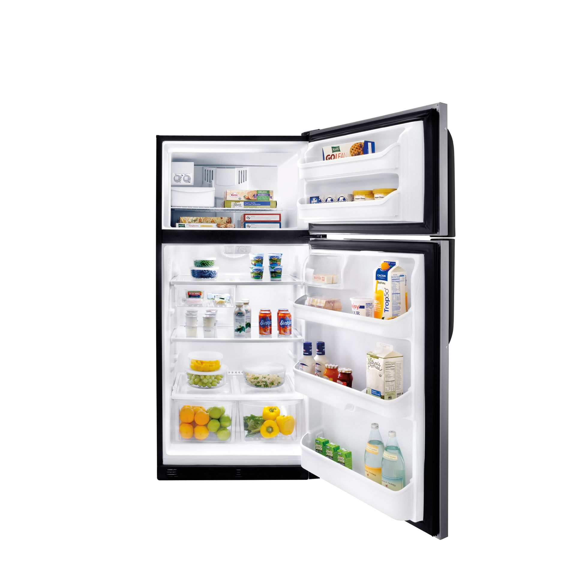 Kenmore 18.2 cu. ft. Top-Freezer Refrigerator - Stainless Look