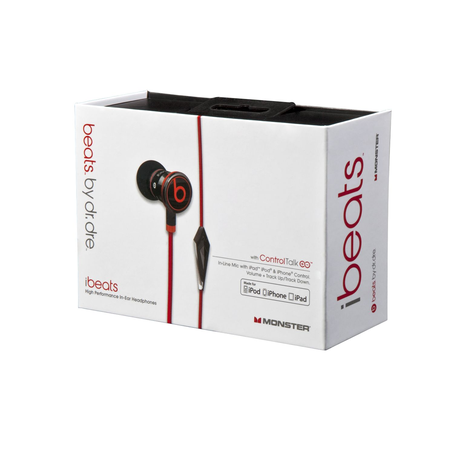 Monster iBeats™ Headphones with ControlTalk&#8482 - Black