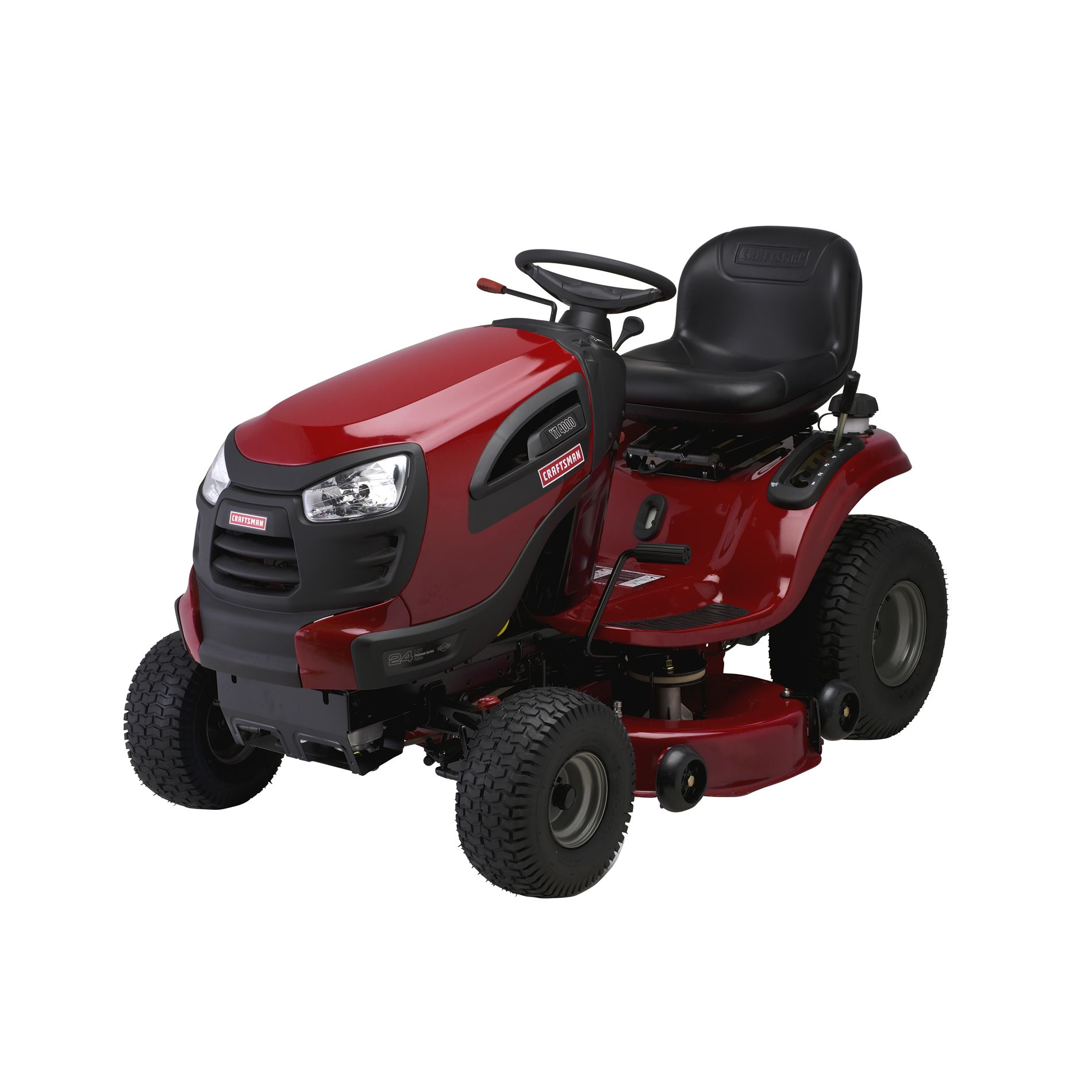 "Craftsman 42"" 24 hp Turn Tight™ Yard Tractor 49 States"