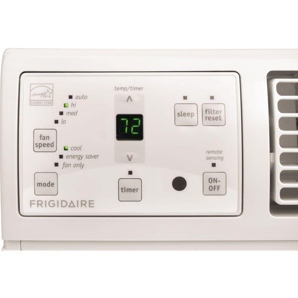 Frigidaire 12,000 BTU 230-Volt Through-the-Wall Air Conditioner with 10,600 BTU Supplemental Heat