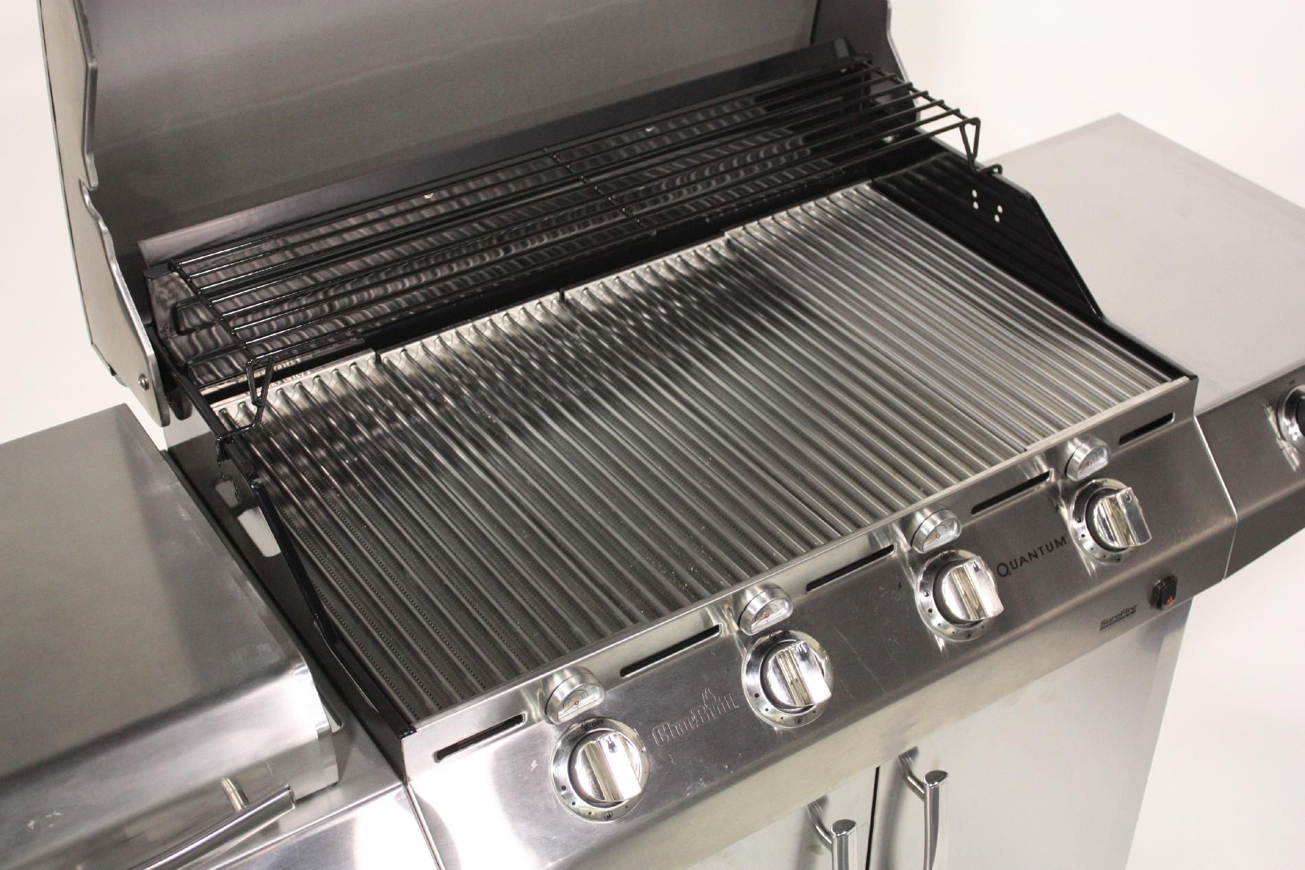Char-Broil 4-Burner Infrared Gas Grill with Side Burner and Auto Clean* Limited Availability