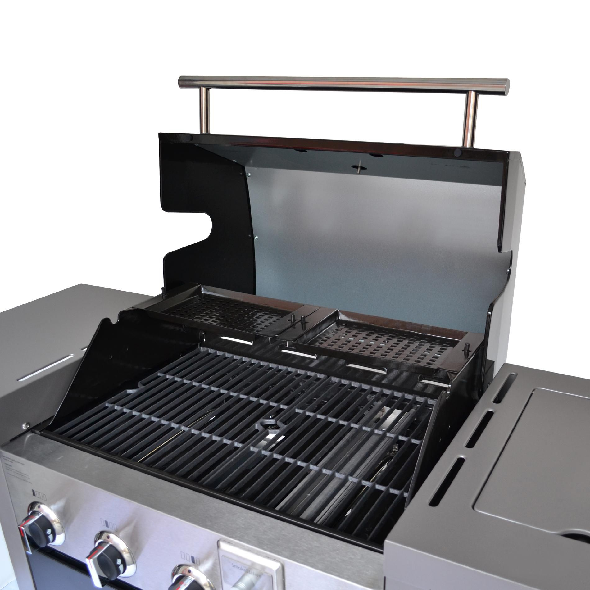 Hamilton Beach 4-Burner GrillStation™ Gas Grill