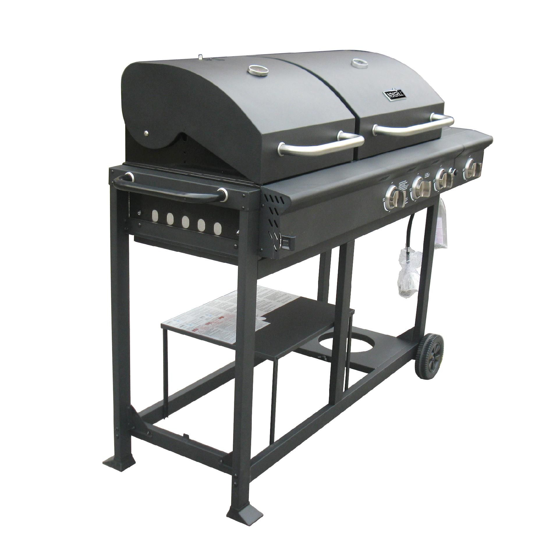 Nexgrill Charcoal and Gas Grill Combo