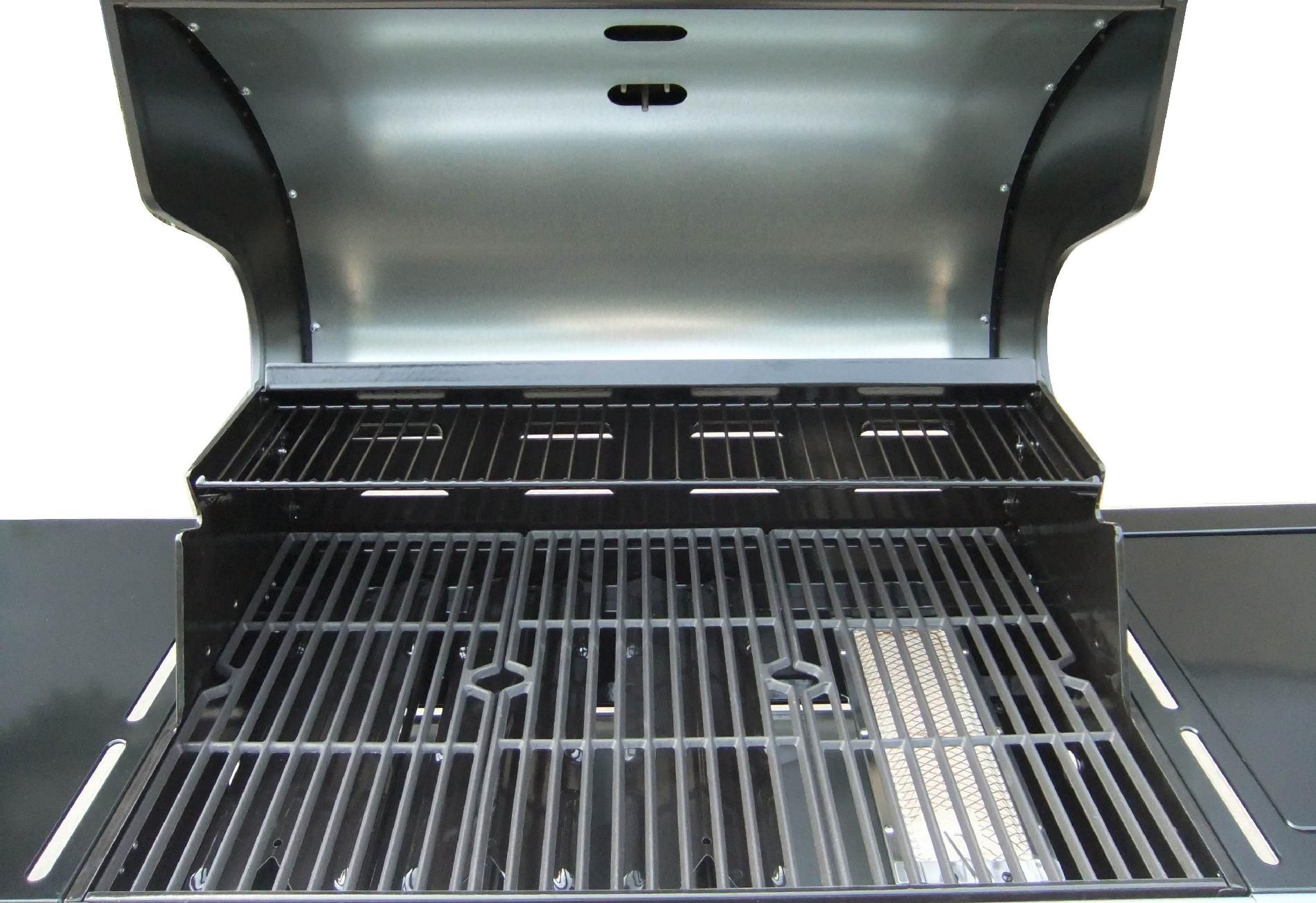 Kenmore 4-Burner LP Mocha Gas Grill w/ Searing Burner