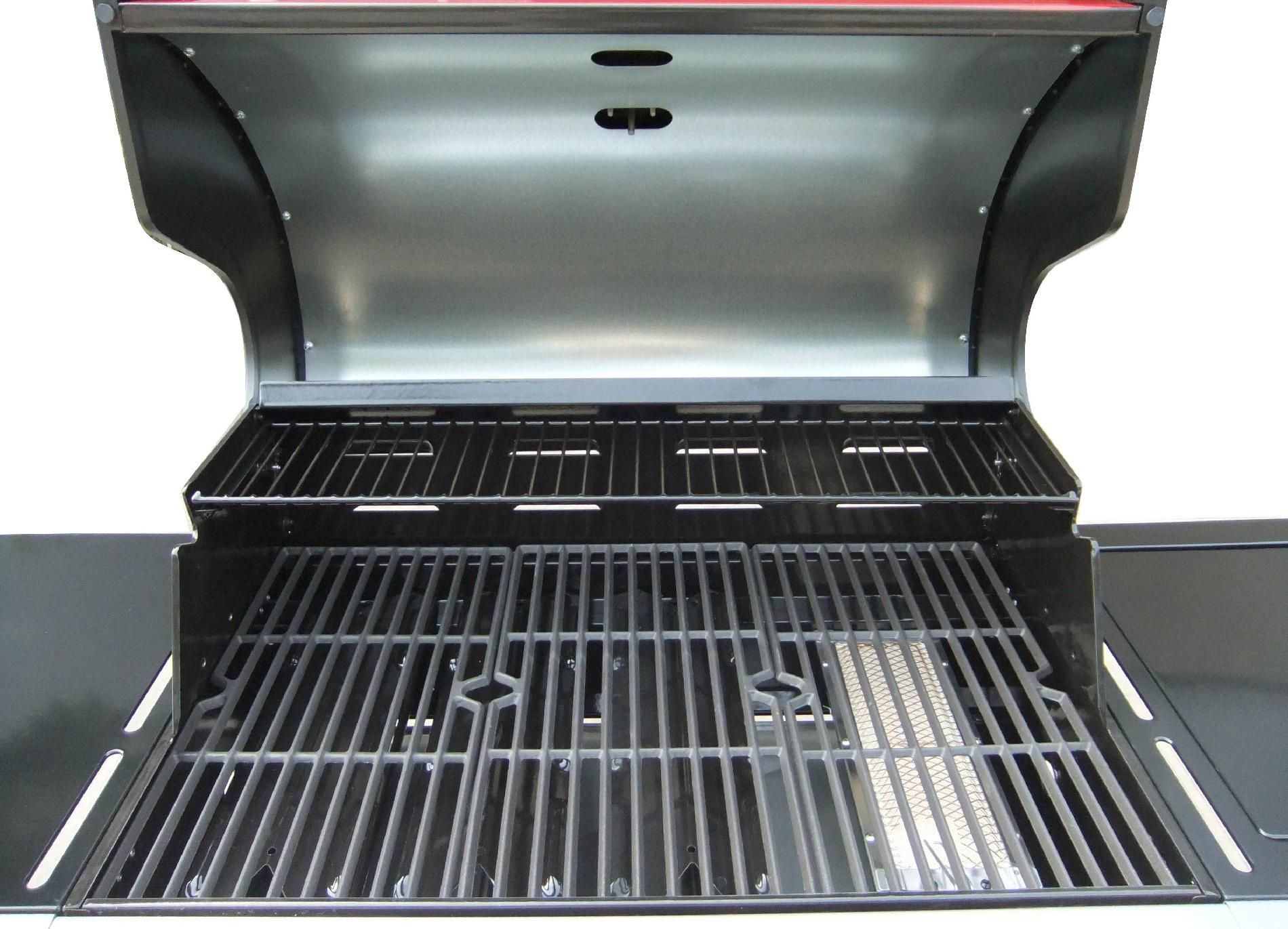 Kenmore 4-Burner LP Red Gas Grill w/ Searing Burner