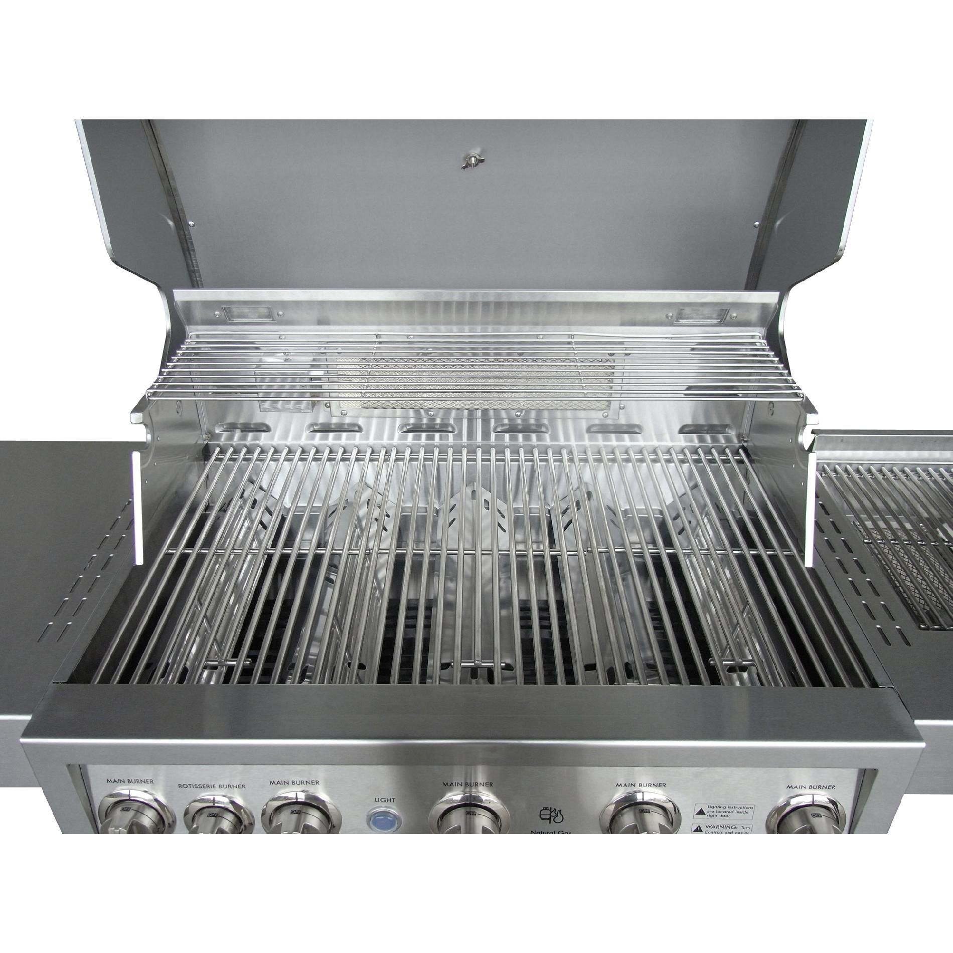 Kenmore Elite 5-Burner Stainless Steel Gas Grill