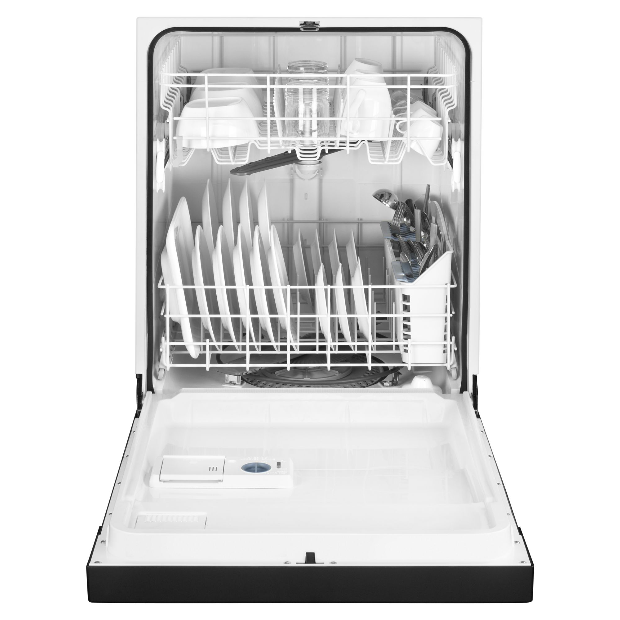"Maytag 24"" Jetclean® Plus Dishwasher w/ High Temp Wash  - Black"