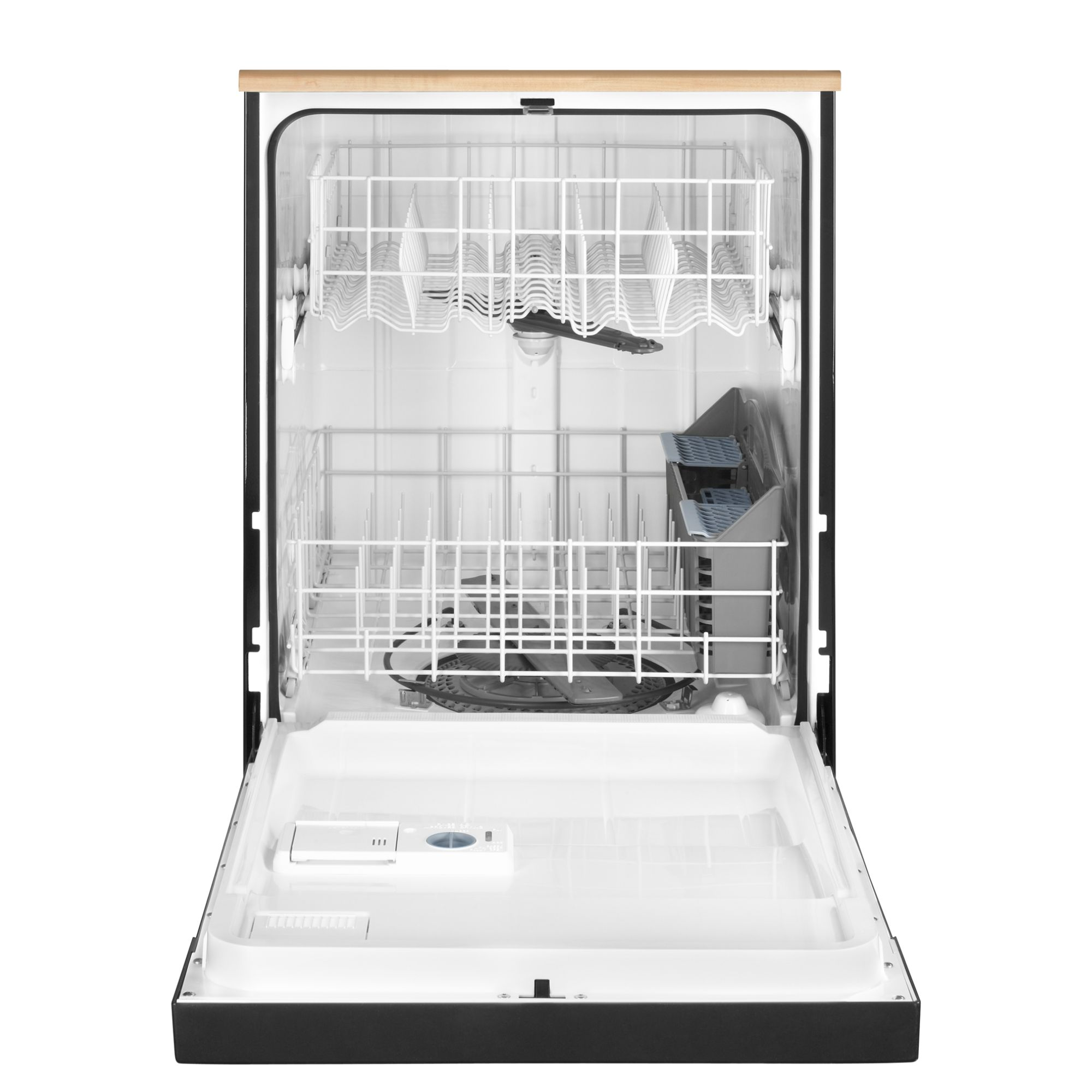"Maytag 24"" Portable Jetclean® Plus Dishwasher w/ High-Temp Wash Option - Black"
