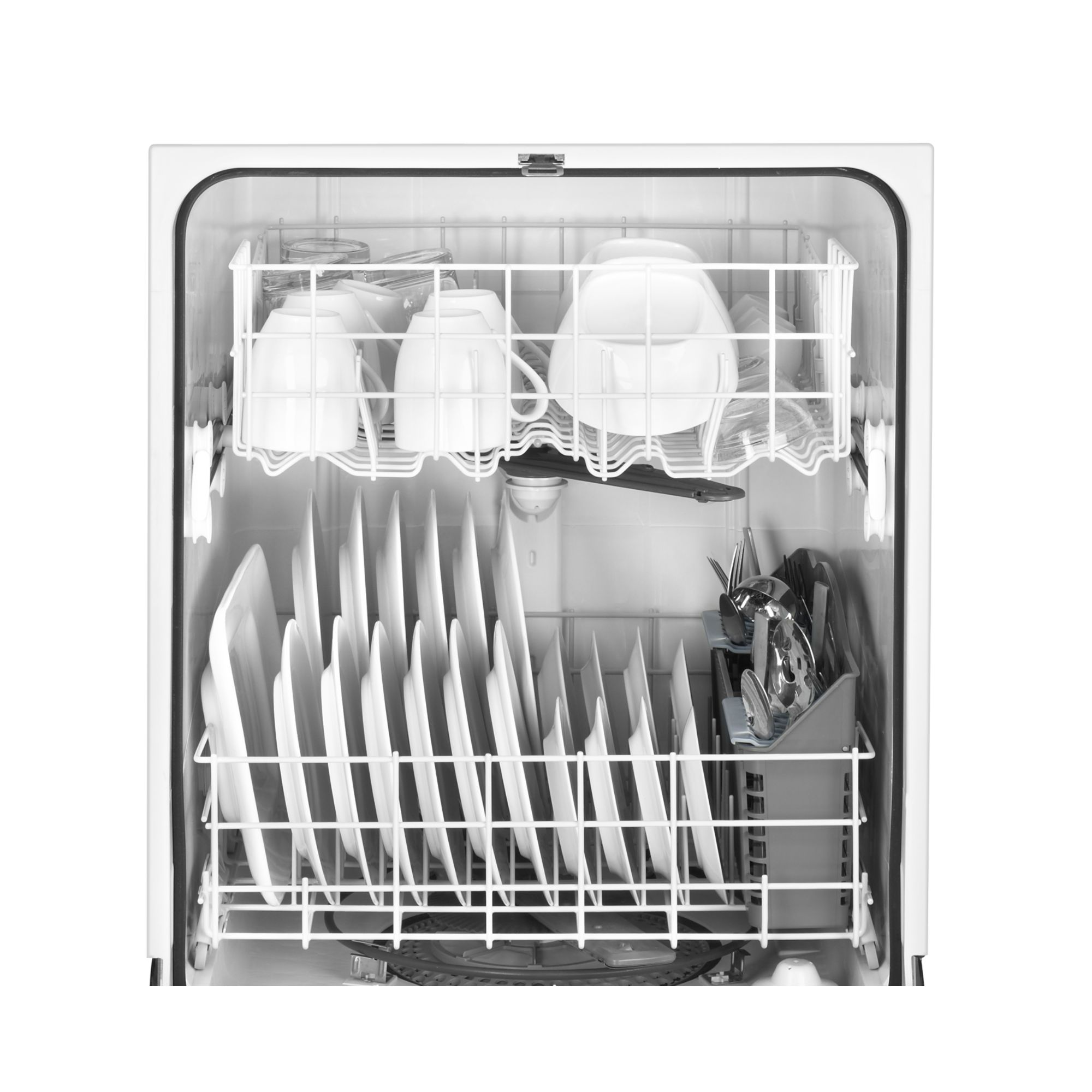 "Maytag 24"" Jetclean® Plus Dishwasher w/ High Temperature Wash Option - White"