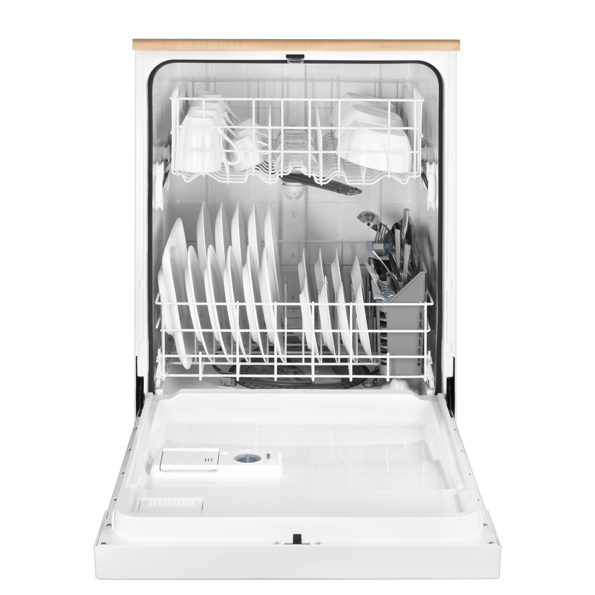 "Maytag 24"" Portable Jetclean® Plus Dishwasher w/ High-Temp Wash Option - White"