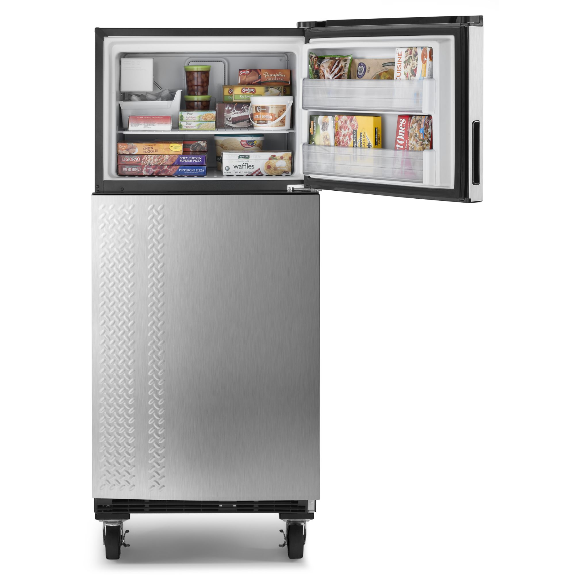Gladiator GARF19XXYK 19 cu. ft. Chillerator Stainless Steel Garage Refrigerator