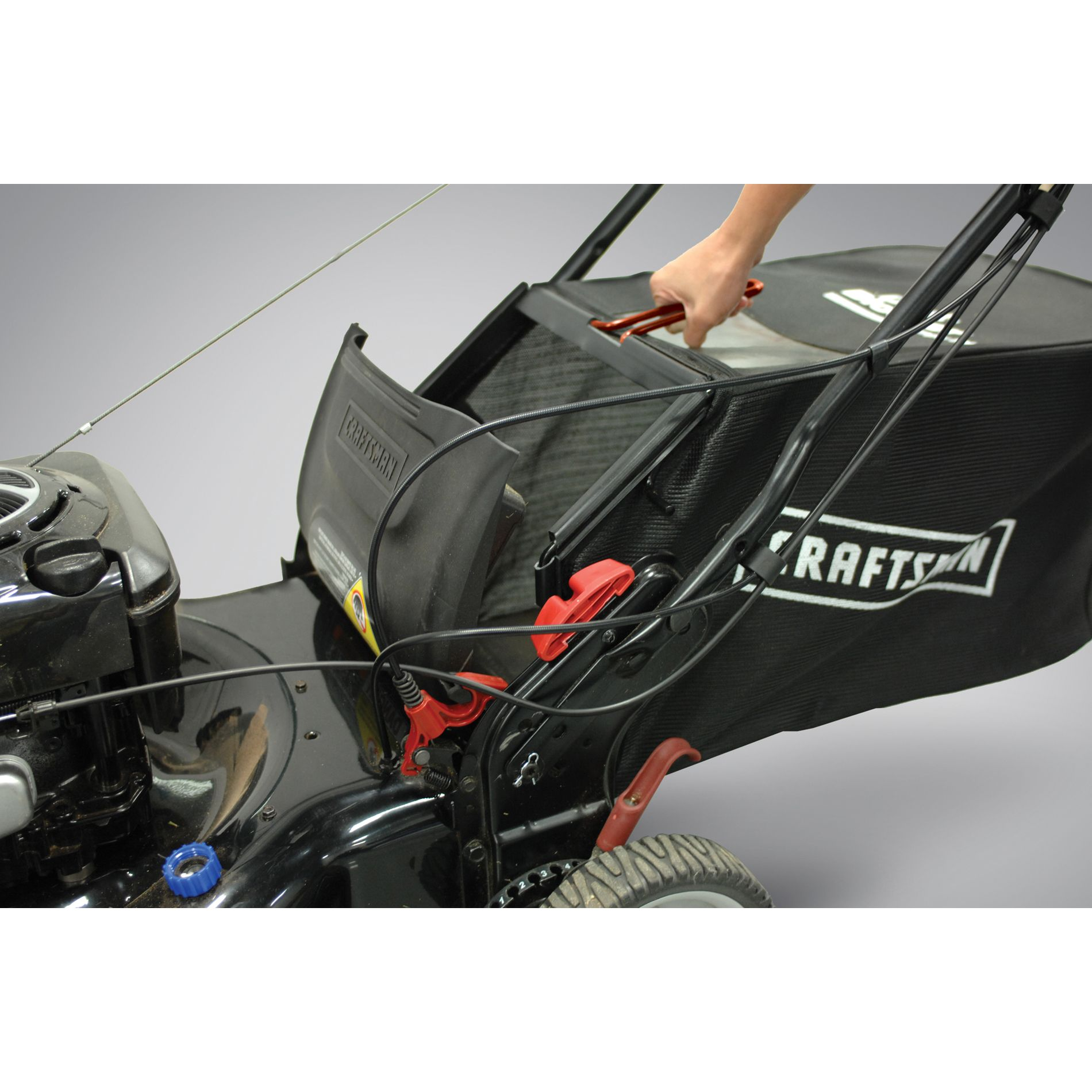 "Craftsman 190cc* 22"" Rear Drive Self-Propelled EZ Lawn Mower–50 States"
