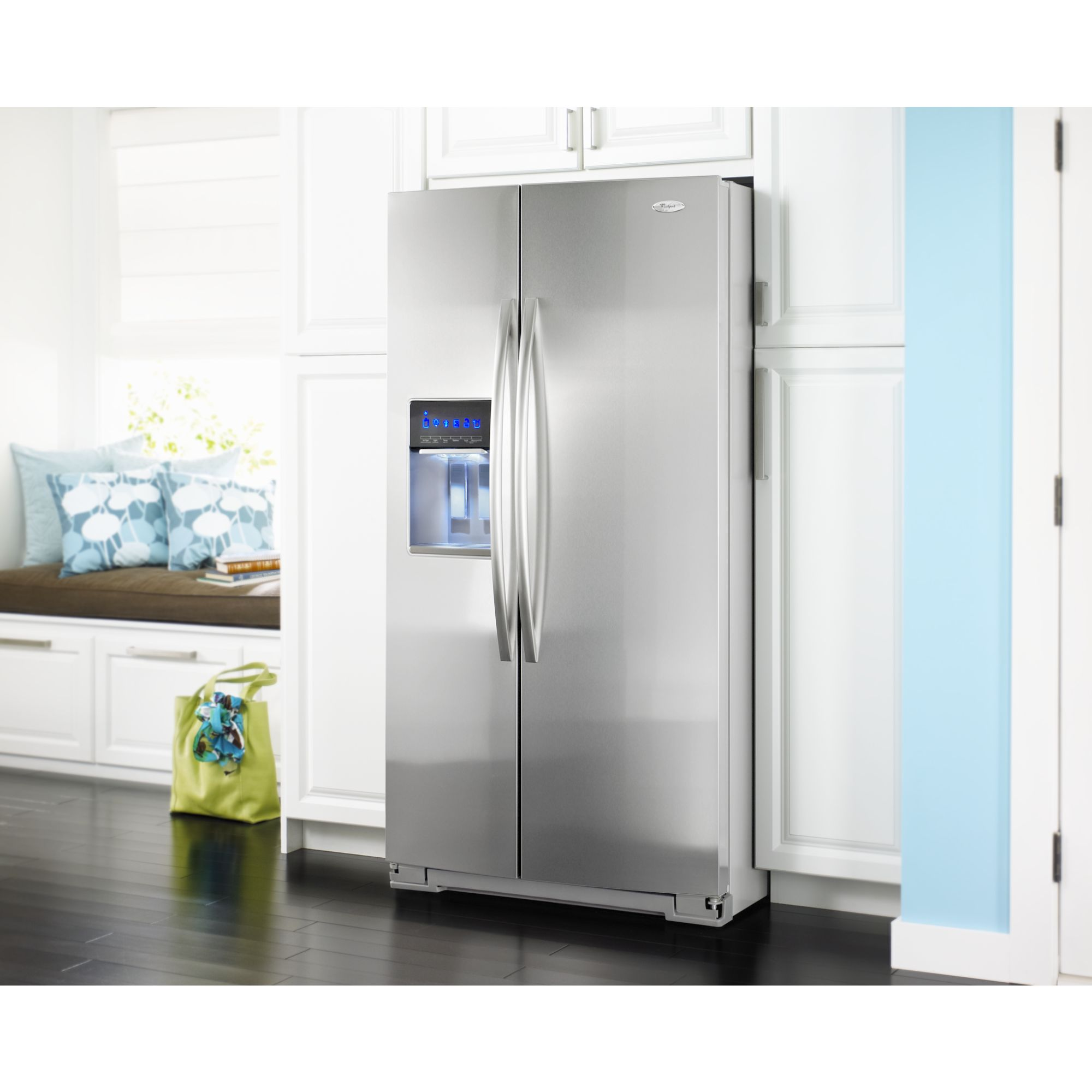 Whirlpool 30 cu. ft. Side-by-Side Refrigerator - Stainless Steel