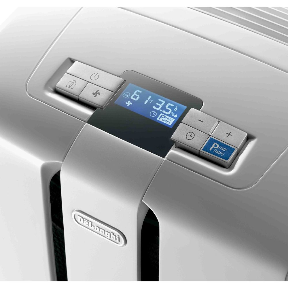 DeLONGHI 50-Pint Dehumidifier with Pump