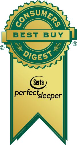 Serta Metallic Super Pillow Top Firm Queen Mattress Only