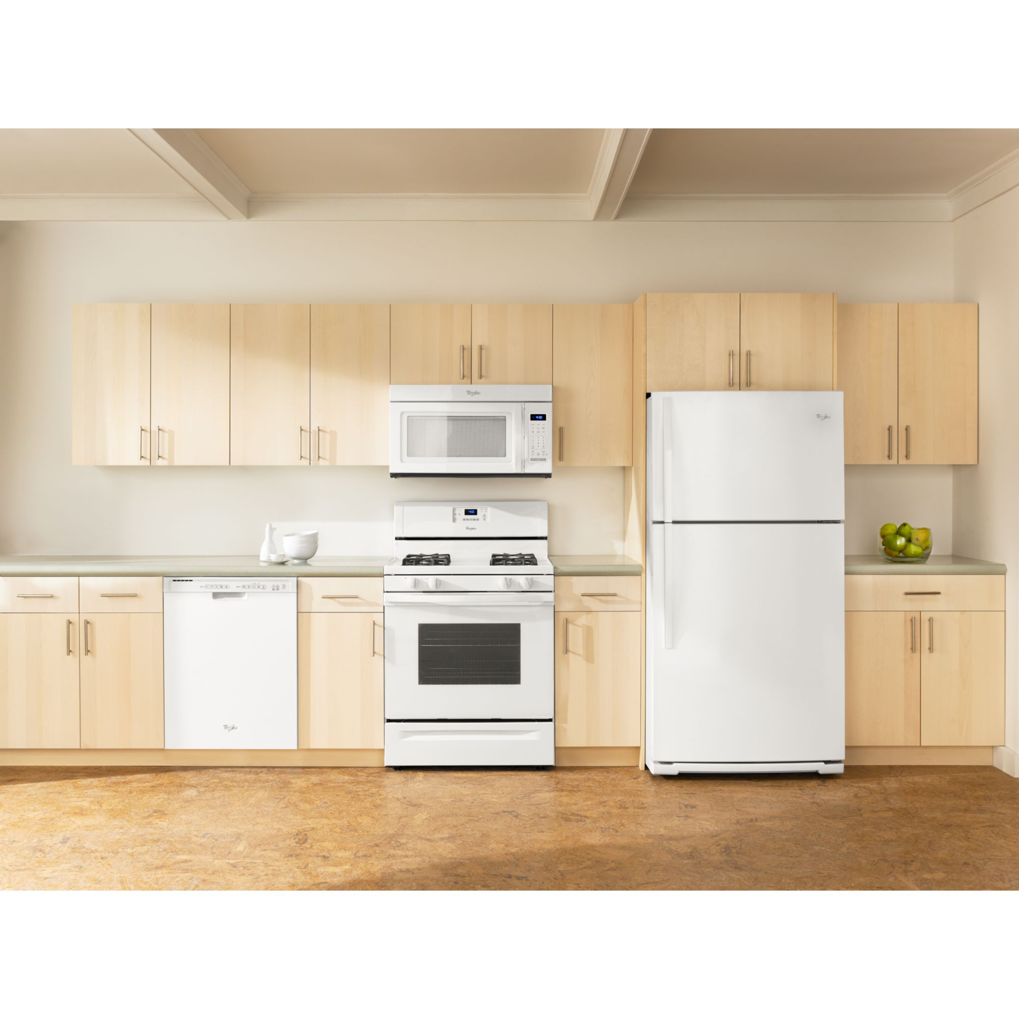 Whirlpool 30 in. Freestanding Gas Range w/ AccuBake®  - White