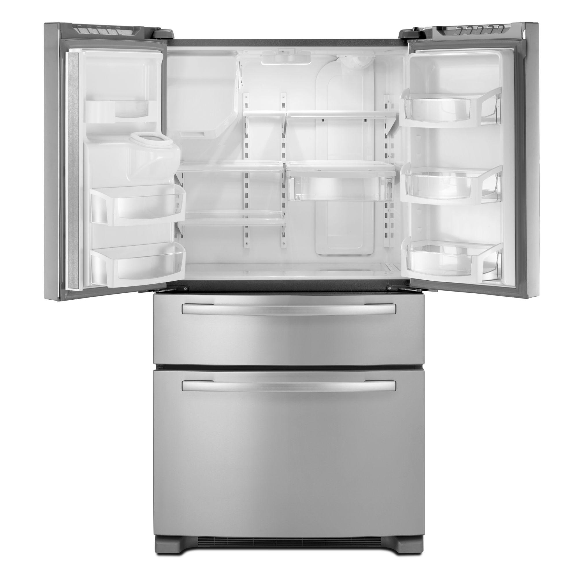 Whirlpool 25 cu. ft. French Door Refrigerator w/ External Pantry Door - Stainless Steel