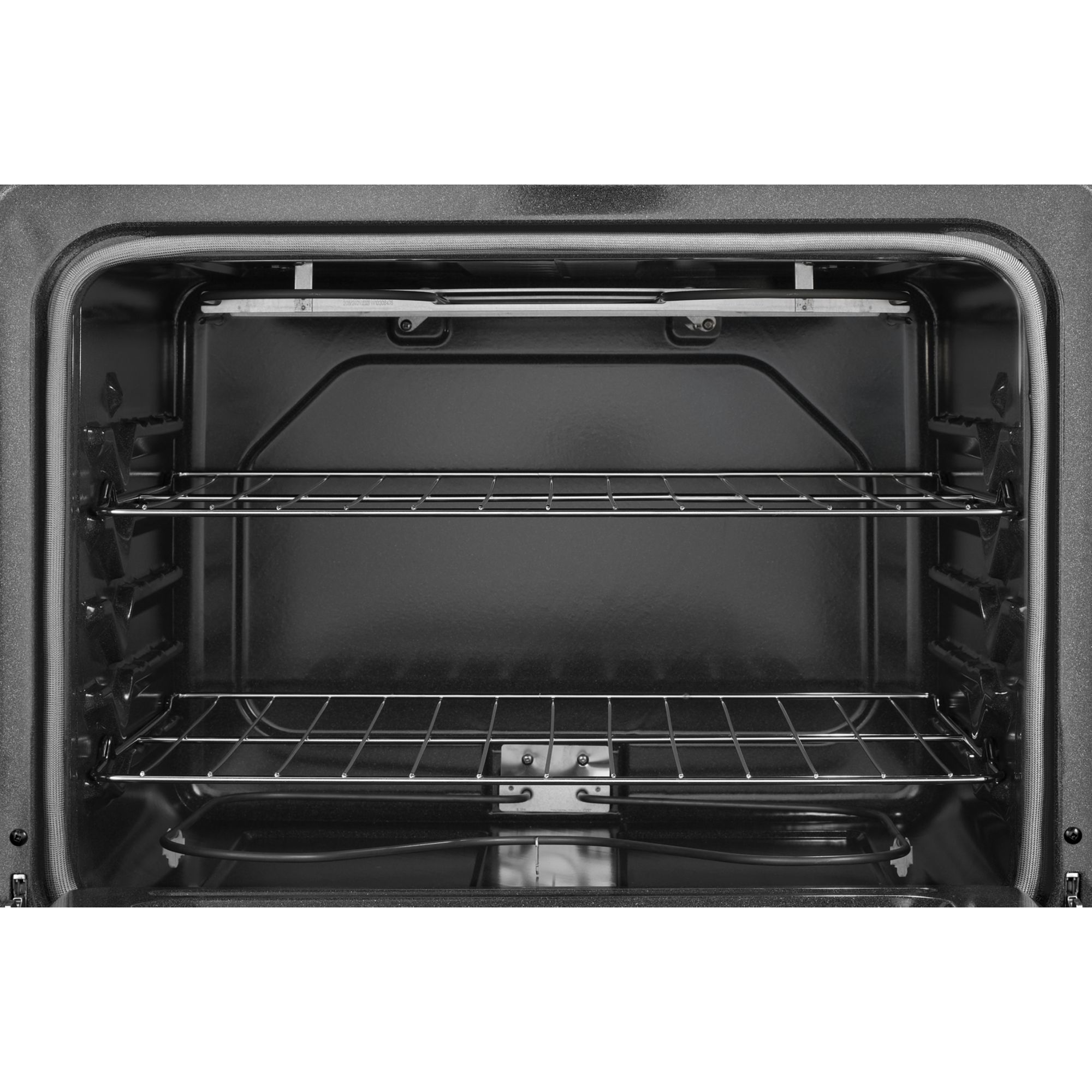 Whirlpool 4.8 cu. ft. Electric Range w/ Custom Broil - Black