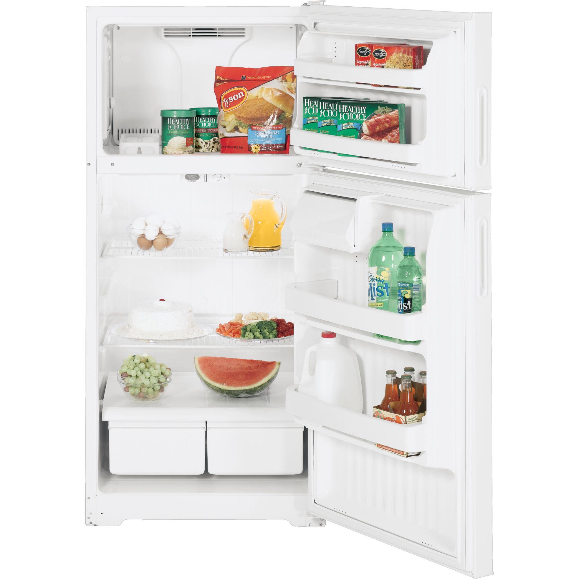 GE 15.7 cu. ft. Top Freezer Refrigerator (GTR16BBSR)