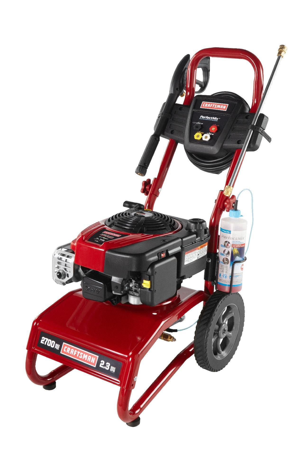 Craftsman Pressure Washer 2700 PSI, 2.3 GPM Briggs & Stratton Powered Non CA