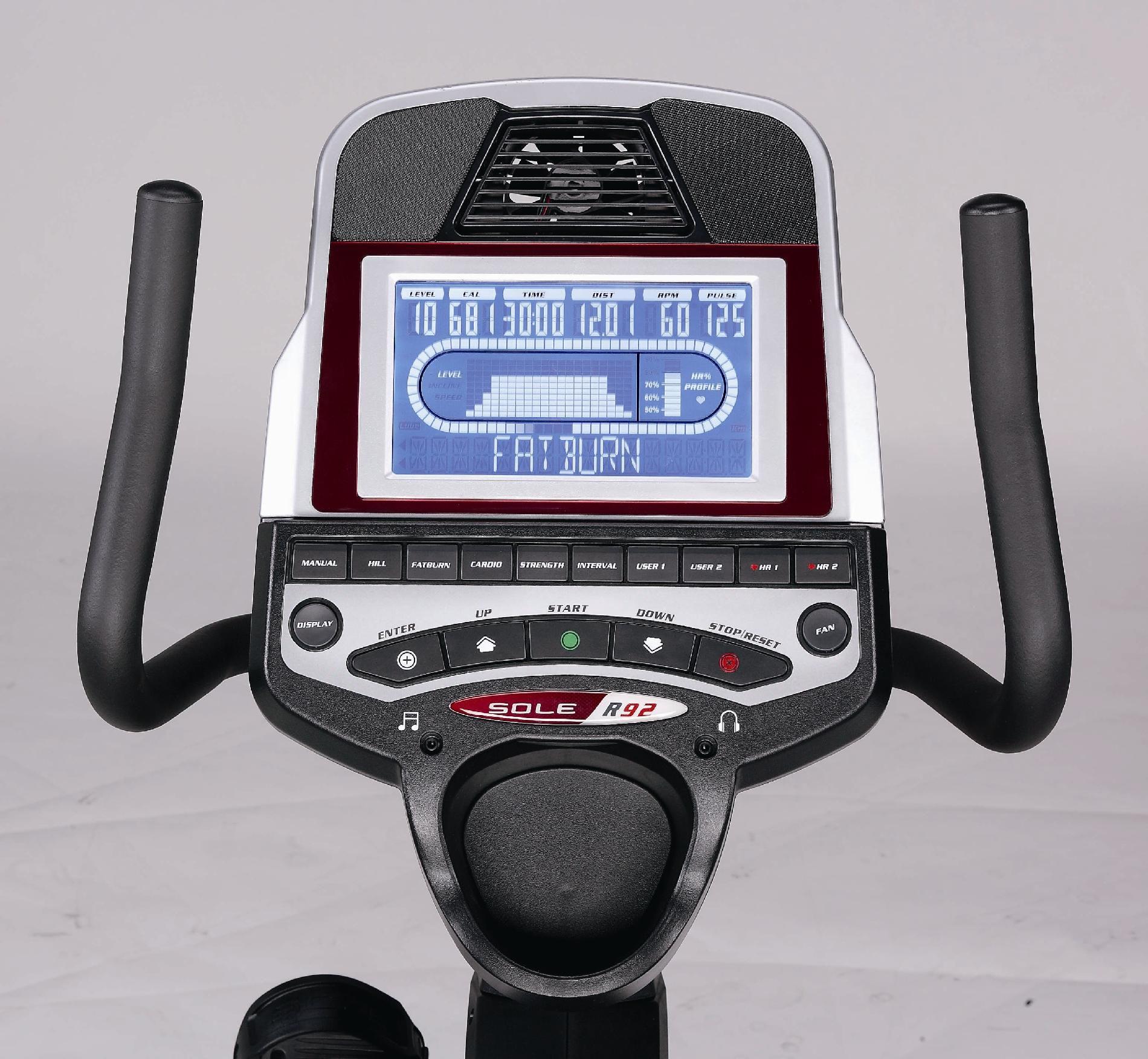 Sole R92 Recumbent Exercise Bike