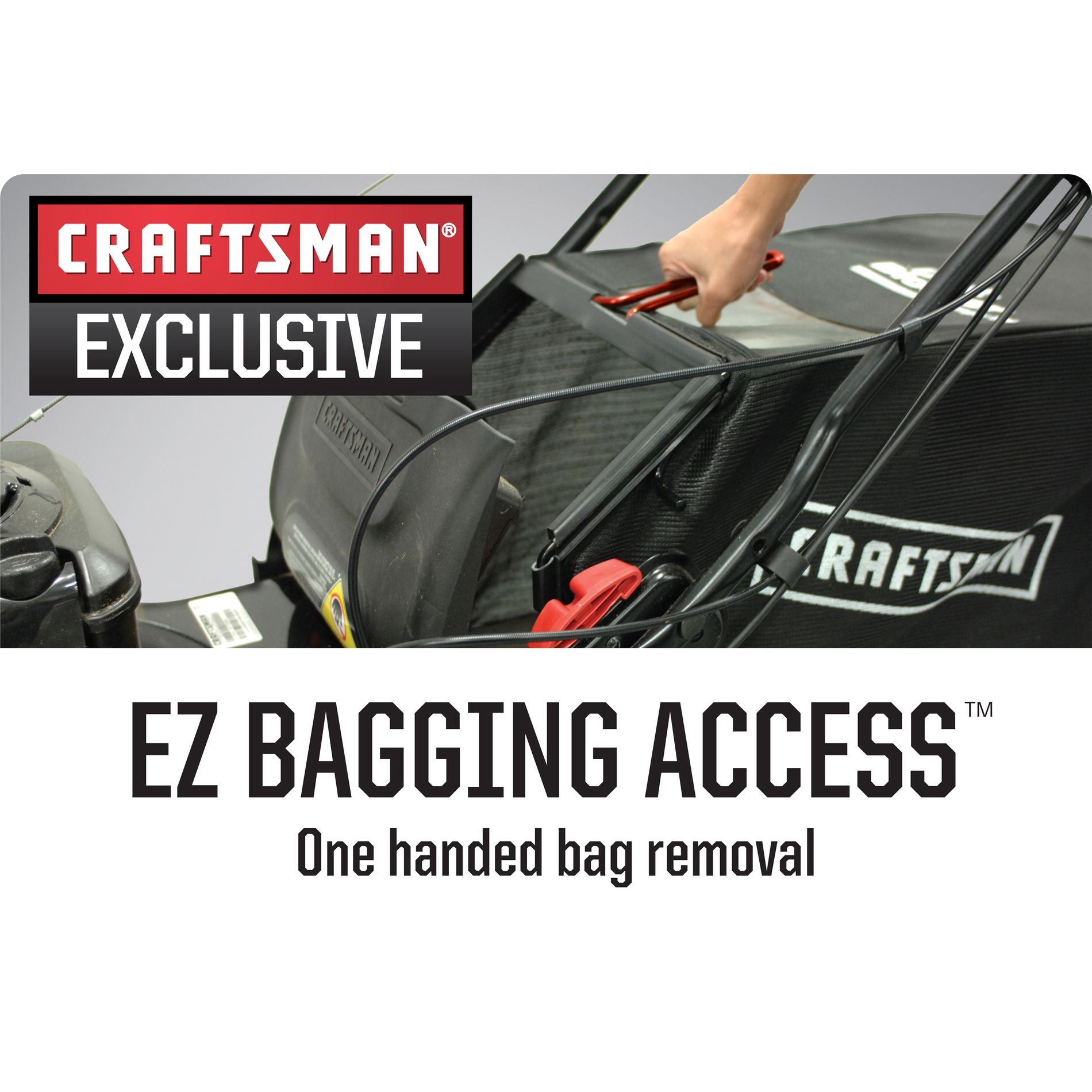 "Craftsman 190cc* Briggs & Stratton Gold Engine, 22"" Front Drive Self-Propelled EZ Lawn Mower"