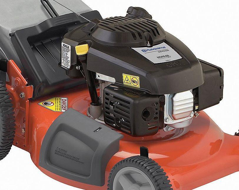 "Husqvarna 149cc* 21"" Rear Bag Push Kohler Powered Lawn Mower Non CA"