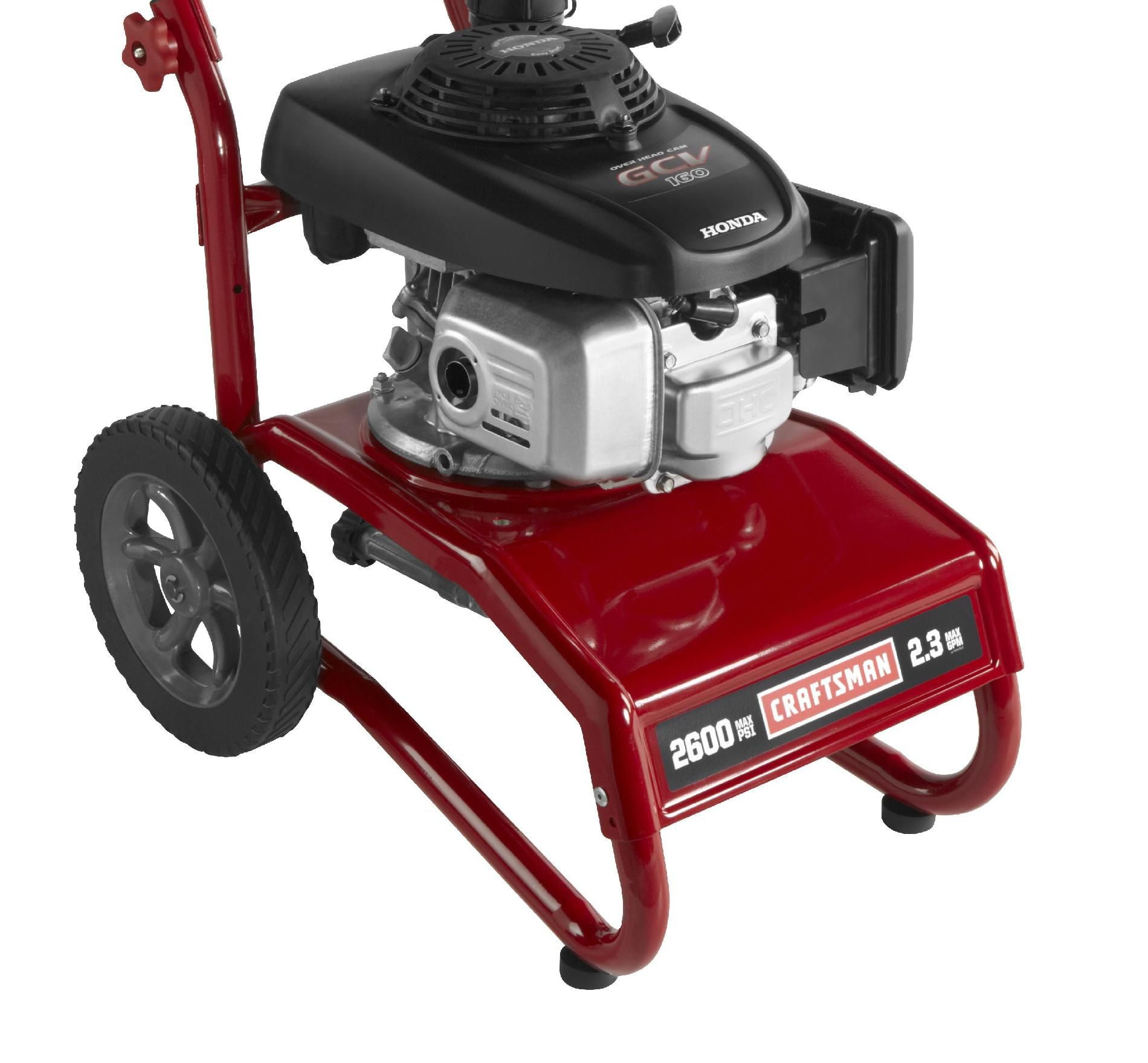 Craftsman Pressure Washer 2600 PSI, 2.3 GPM Honda Powered 50 States