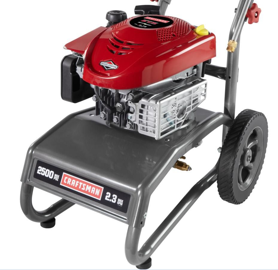 Craftsman Pressure Washer 2500psi 2.3gpm Non CA