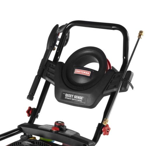 Craftsman Pressure Washer 2700 PSI, 2.3 GPM Featuring Quiet Sense - Automatic Throttle Control 50 States