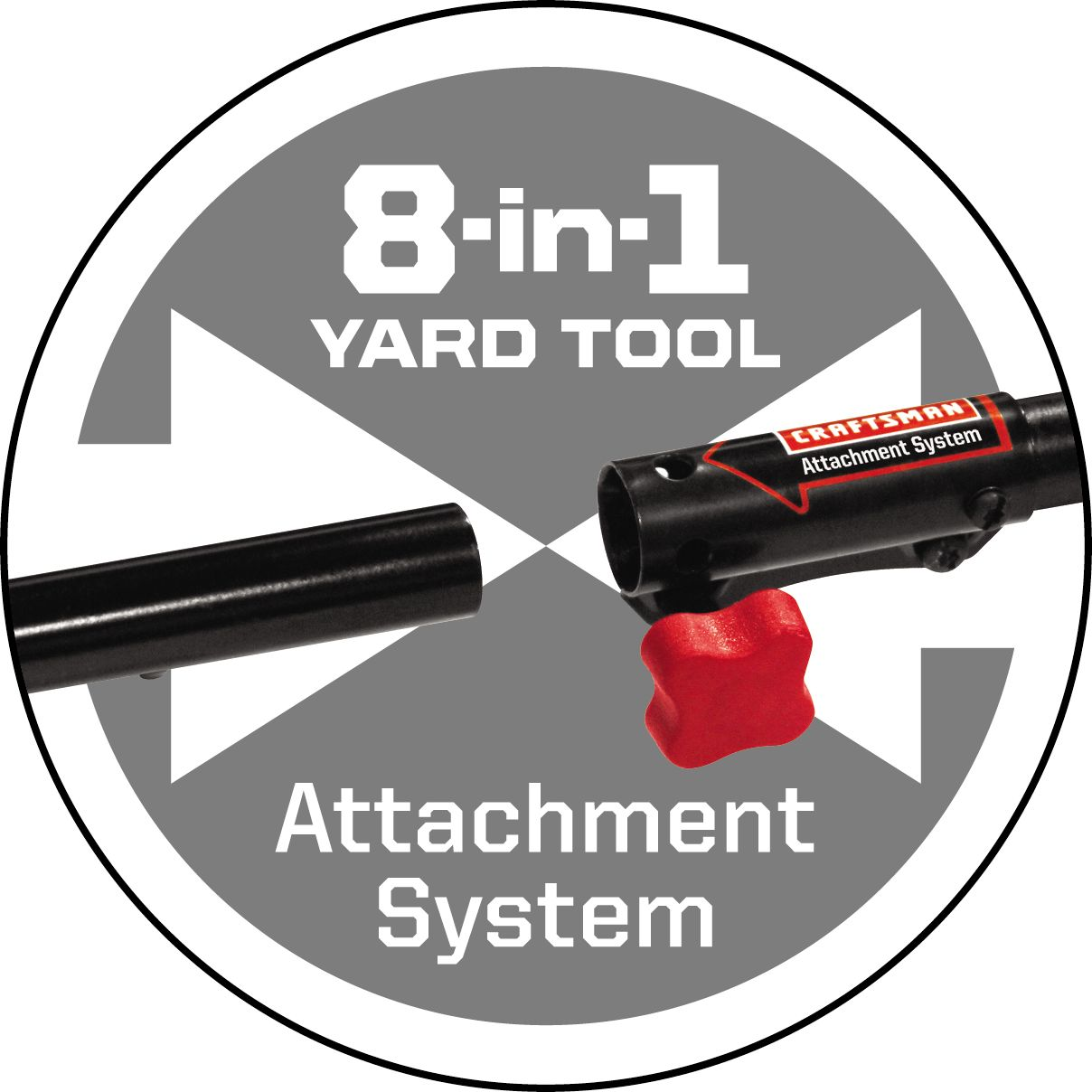 Craftsman 29cc* 4-Cycle WeedWacker™ Straight Shaft Gas Trimmer.