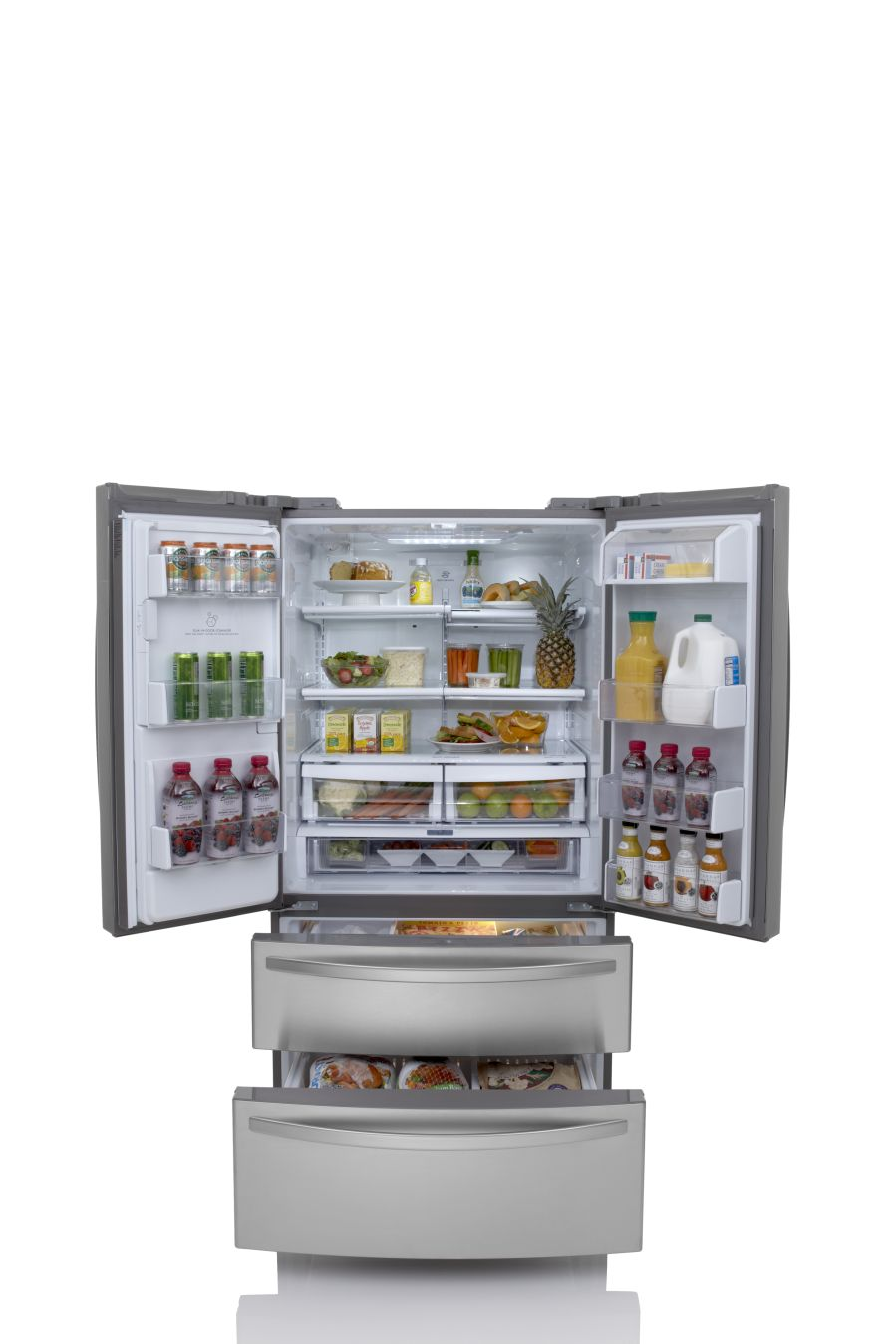 Kenmore 24.7 cu. ft. French-Door Bottom-Freezer Refrigerator - Stainless Steel