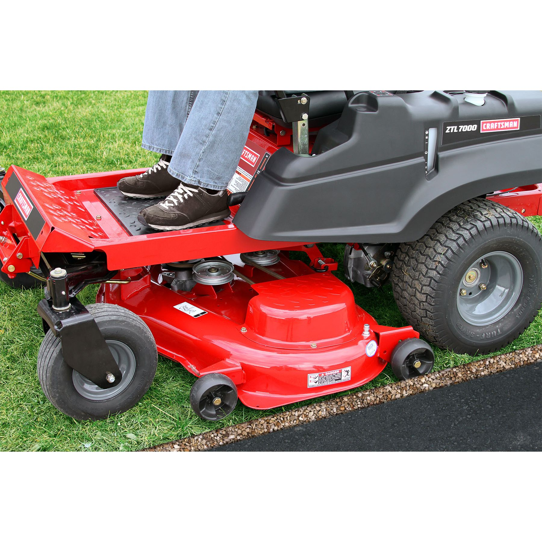 "Craftsman 26 HP* V-Twin 50"" Zero-Turn Riding Mower 49 States"