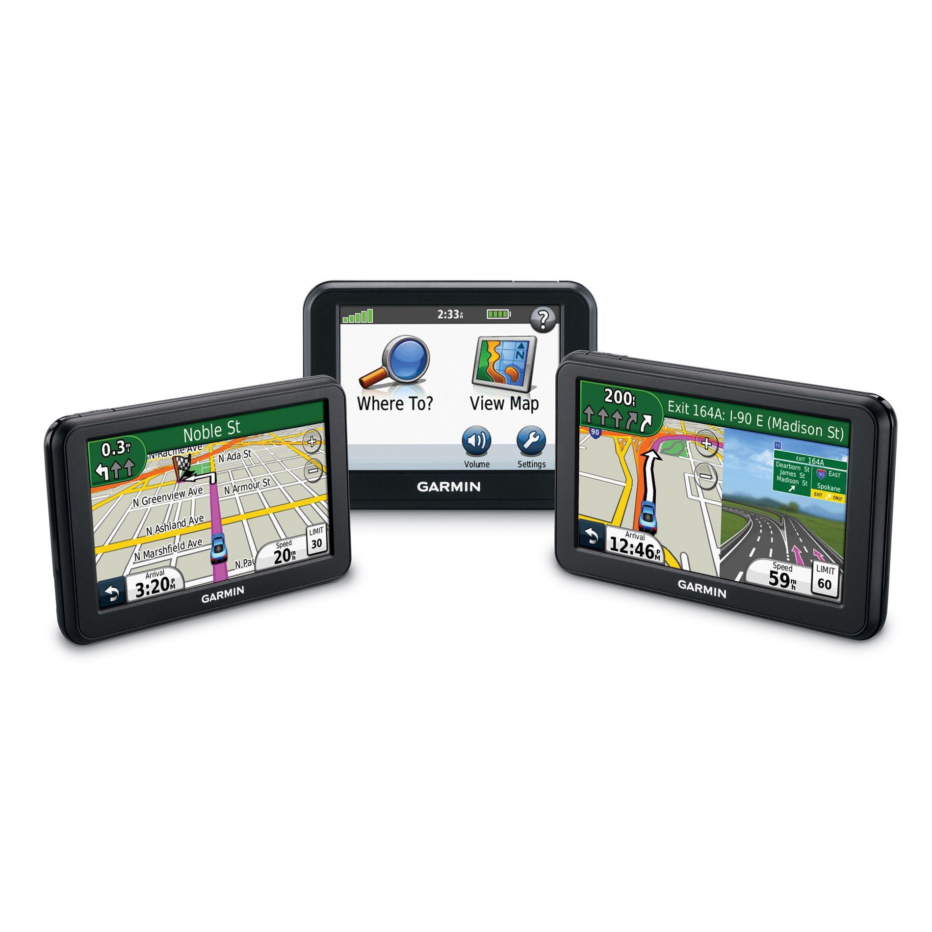 "Garmin nüvi® 50LM 5"" touchscreen with FREE lifetime map updates"