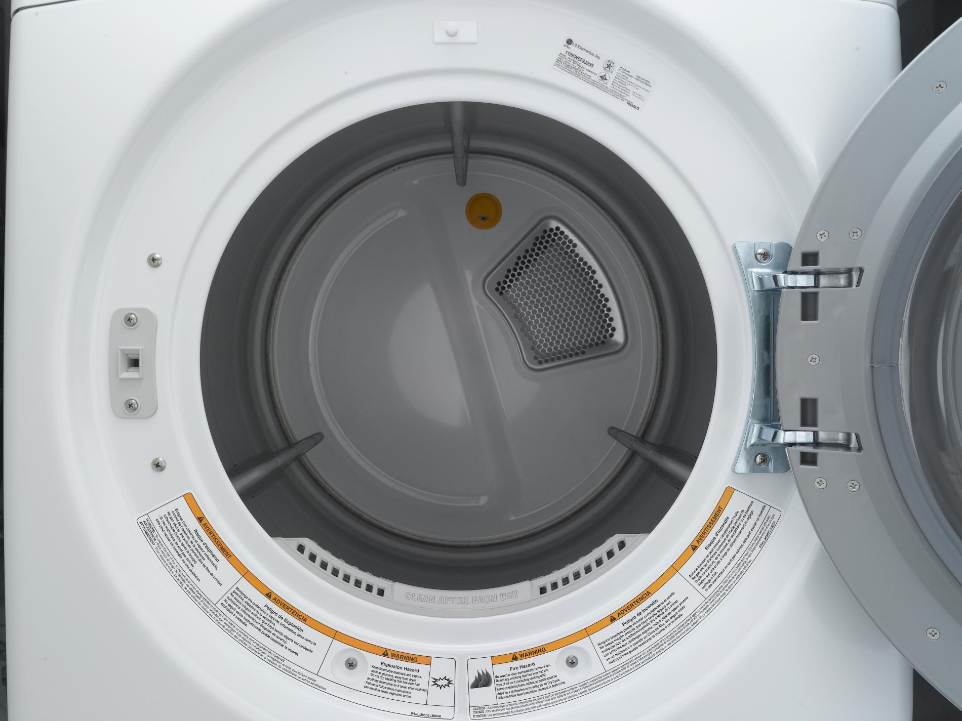 LG 7.3 cu. ft. Electric Dryer w/Steam - White