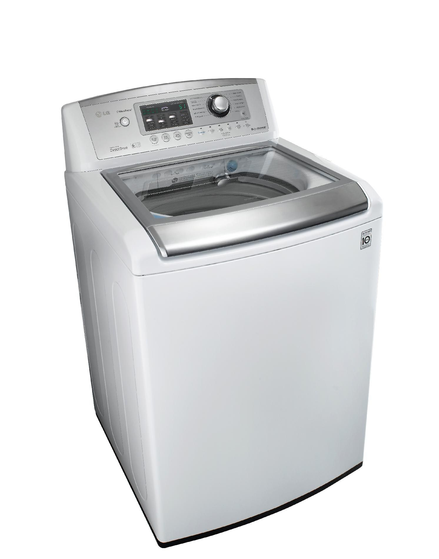 LG 4.7 cu. ft. High-Efficiency Top-Load Washer - White