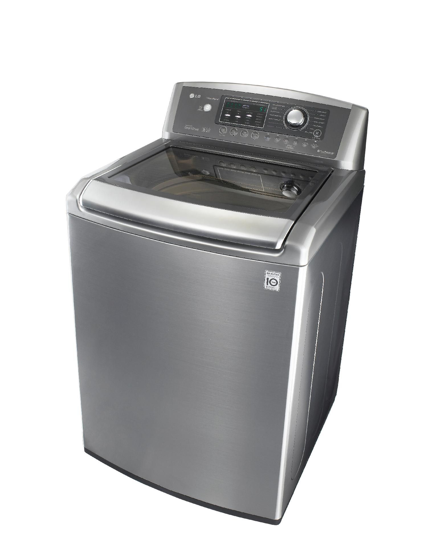 LG 4.7 cu. ft. Ultra Large Capacity High-Efficiency Top Load Washer w/ WaveForce™ - Graphite Steel
