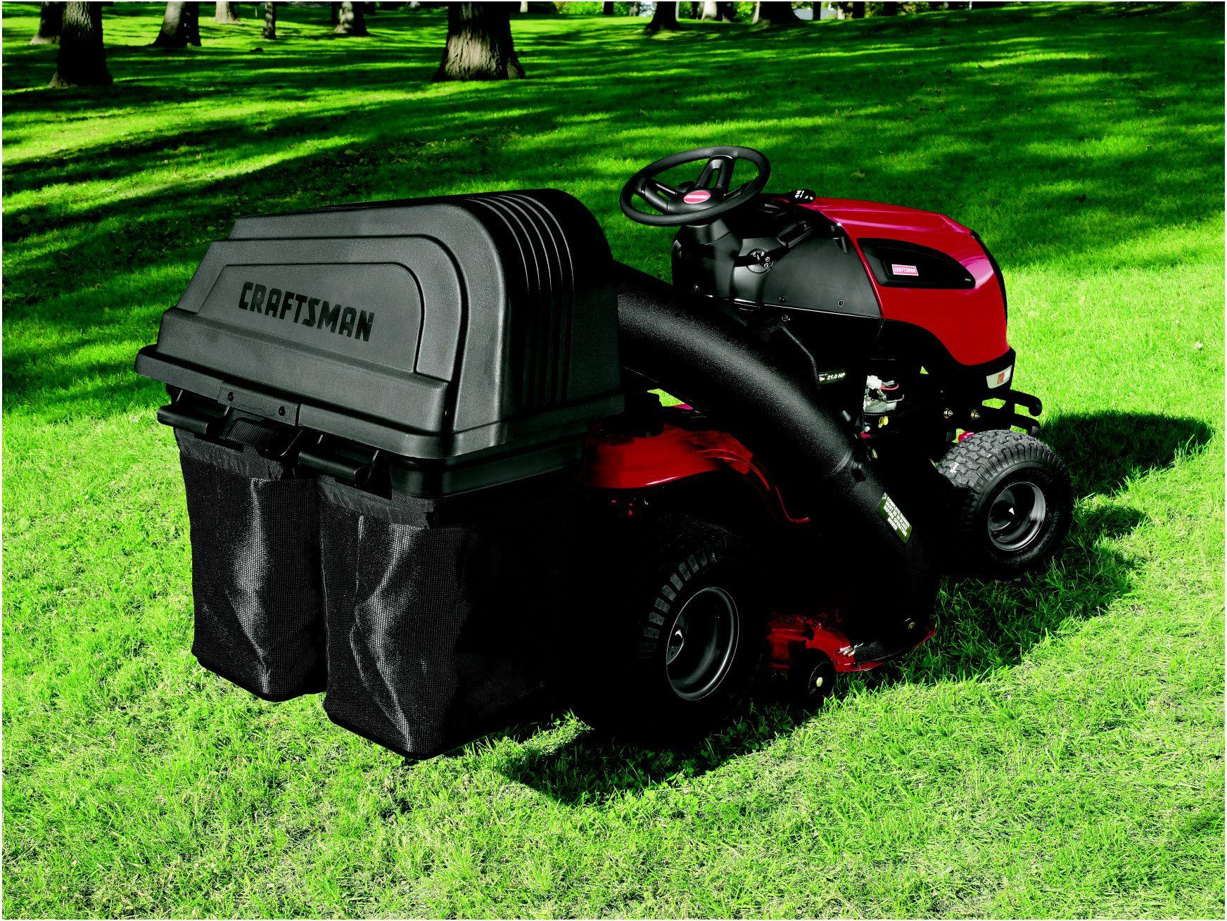 "Craftsman 6 Bushel 2-Bin Soft Bagger for 42"" Lawn Tractors"
