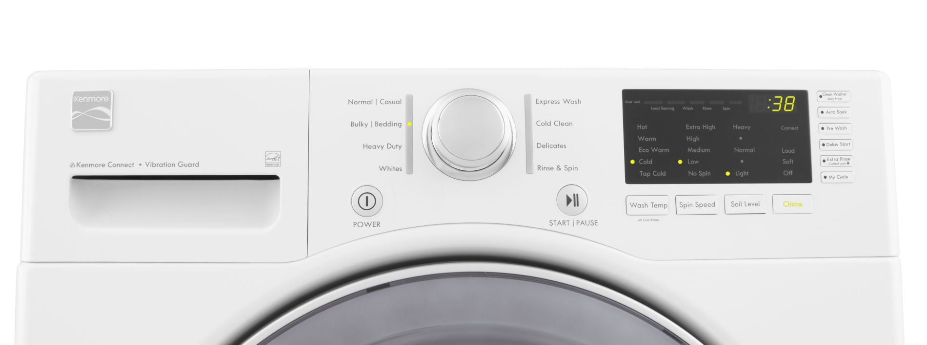 Kenmore 3.7 cu. ft. Front-Load Washing Machine