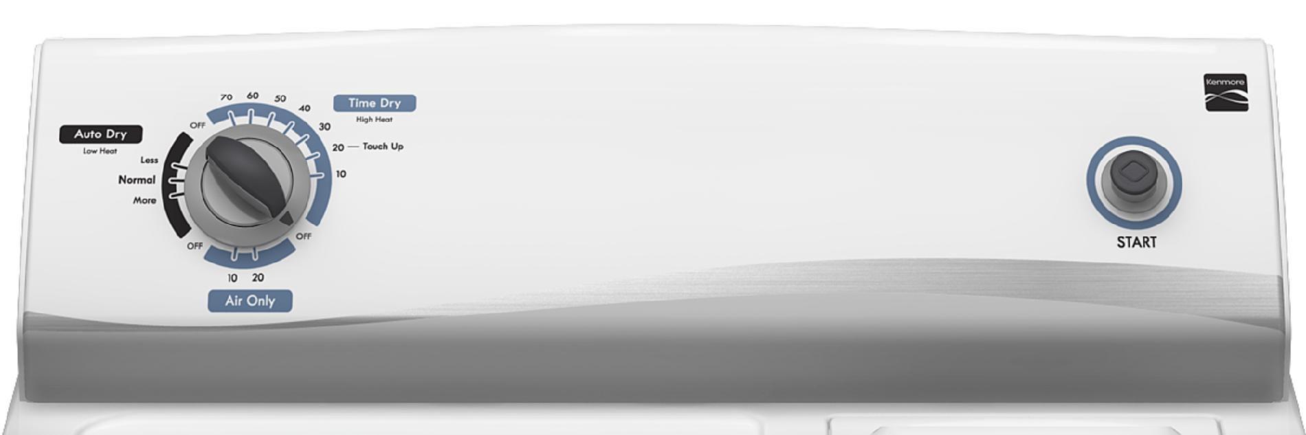 Kenmore 6.0 cu. ft. Flat-Back Gas Dryer