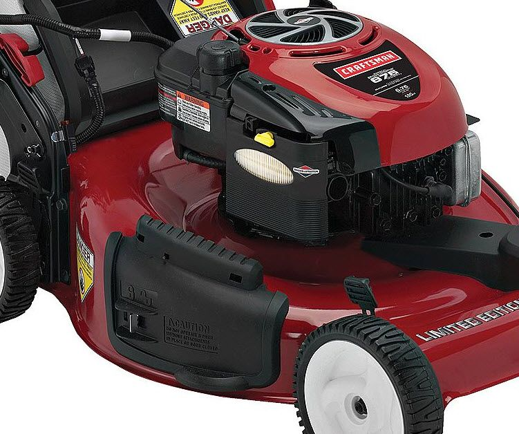 Craftsman 22 In. Self-Propelled Rear Bag Mower Non CA