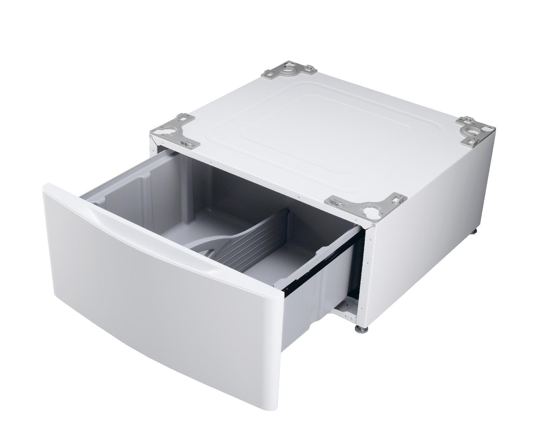 LG 13.9 in. Laundry Pedestal w/ Storage Drawer - White