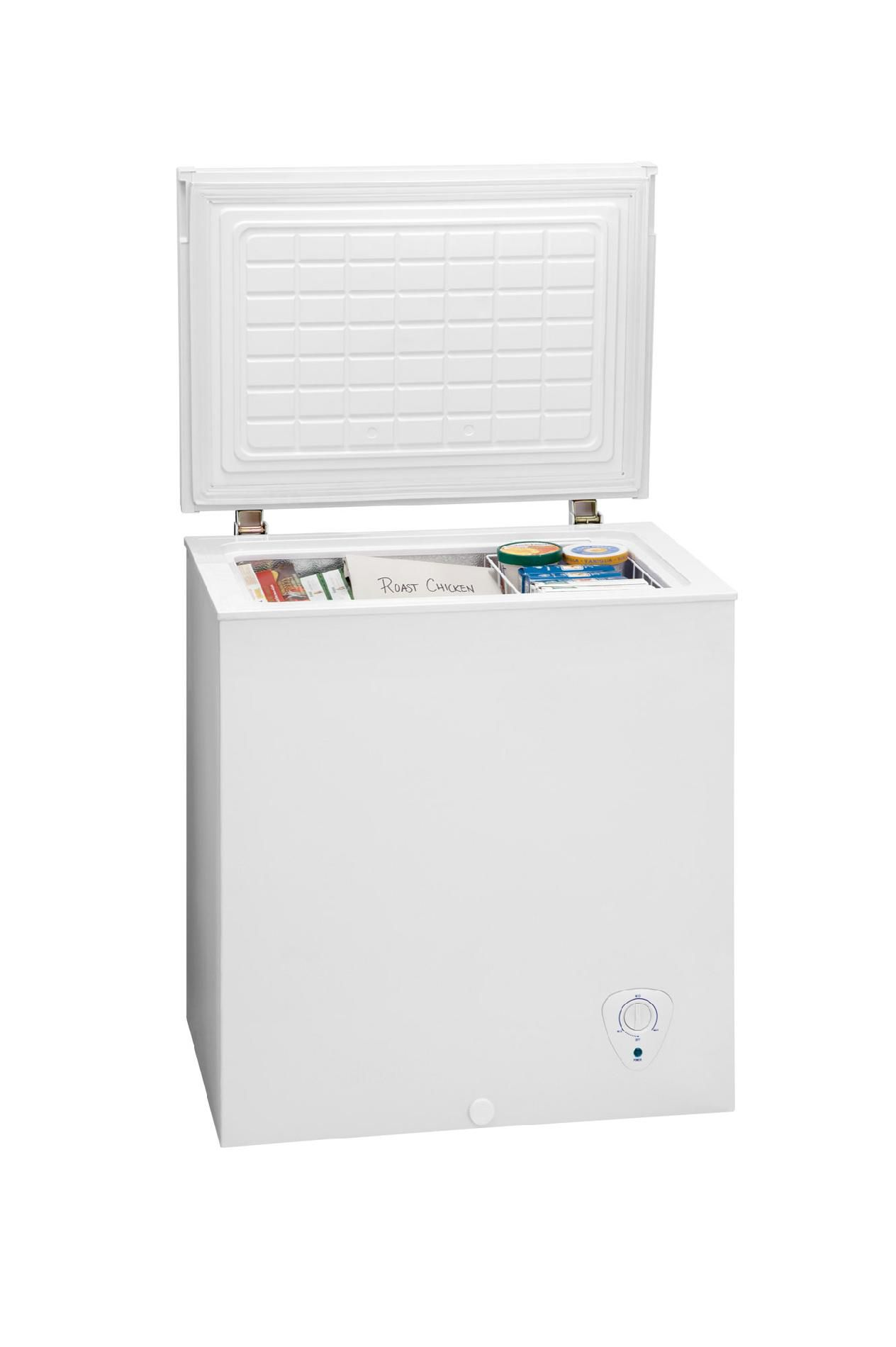 Frigidaire 5.1  cu. ft. Manual Defrost Chest Freezer - White