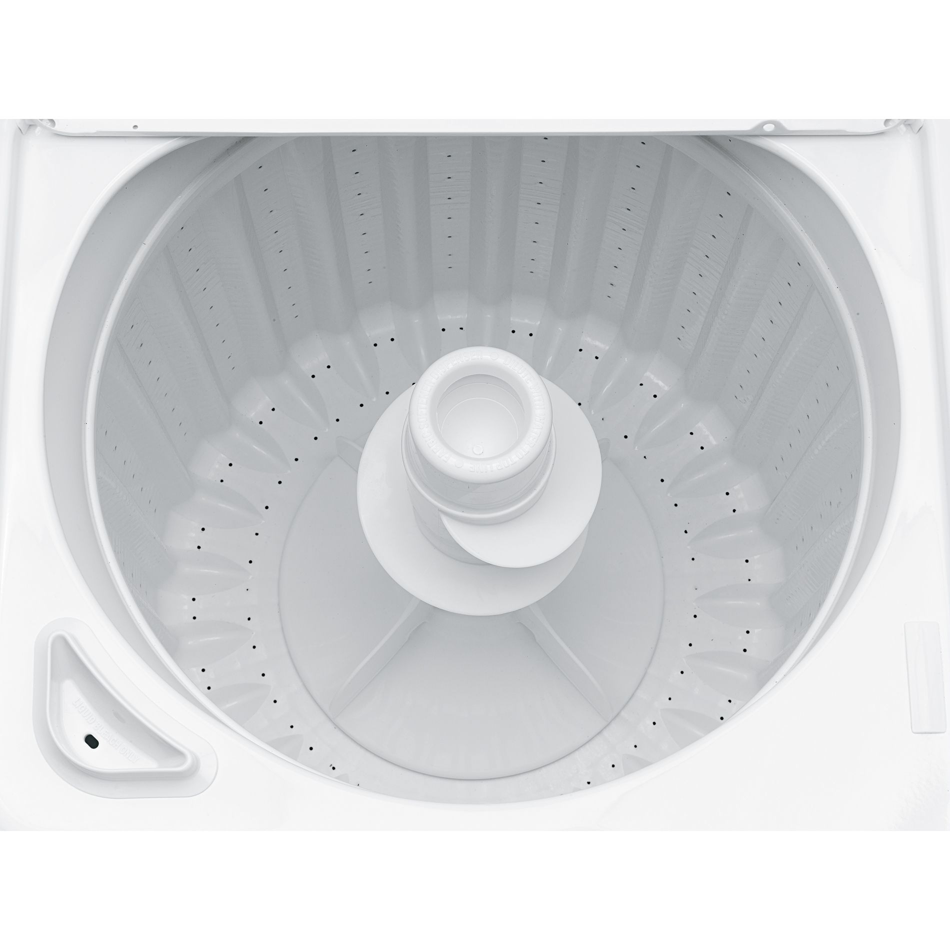 GE 3.7 cu. ft. Top Load Washer - White