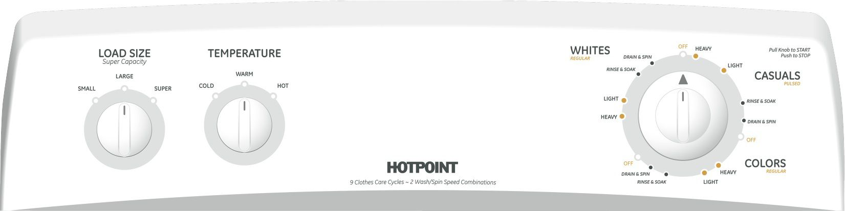Hotpoint 3.5 cu. ft. Top Load Washer - White